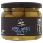 Morrisons The Best Halkidiki Olives With Feta (290g)