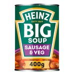 Heinz BIG Soup Sausage & Vegetable