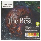 Morrisons The Best 6 Month Matured Christmas Pudding
