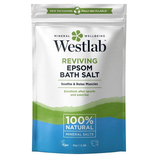 Morrisons Westlab Pure Mineral Bathing Epsom Salt 1kgproduct