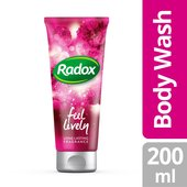 Radox Feel Lively Scent Touch Body wash