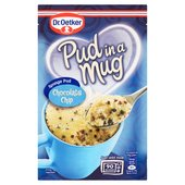 Dr. Oetker Chocolate Chip Pud in a Mug