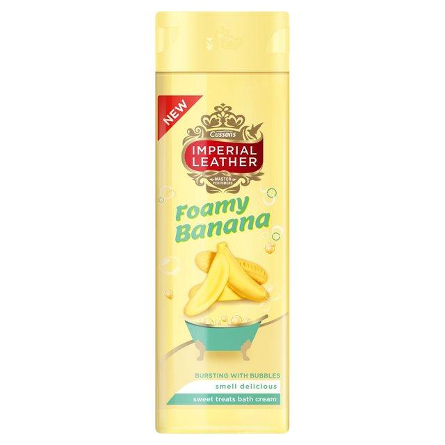 Morrisons Imperial Leather Foamy Banana Bath Cream 500ml