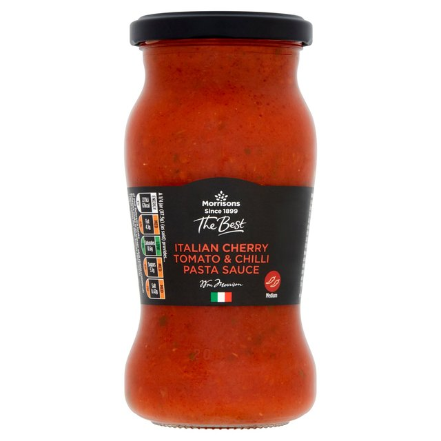 Morrisons The Best Cherry Tomato & Chilli Pasta Sauce