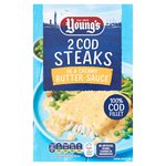 Youngs 2 Cod Steaks In Butter Sauce