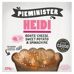 Pieminister Heidi Goats Cheese, Sweet Potato & Spinach Pie