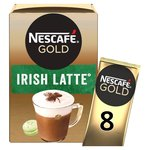 Nescafe Gold Irish Latte Coffee 8 Sachets x 22g