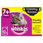 Whiskas 7+ Years Creamy Soups Poultry