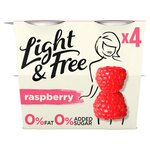 Light & Free Raspberry Yogurt