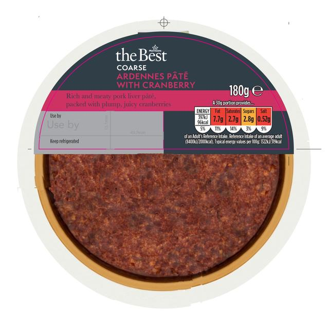 Morrisons The Best Ardennes Pate With Cranberries
