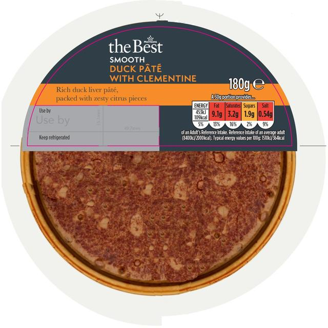 Morrisons The Best Duck Pate with Clementine Confit