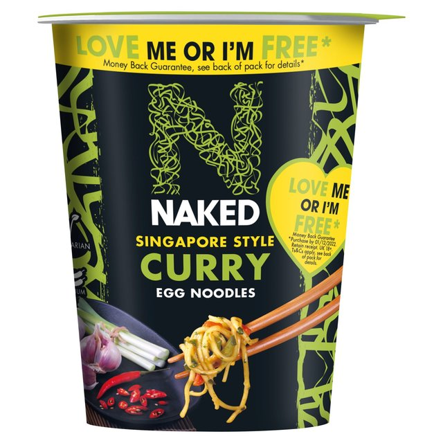 Naked Noodle Singapore Curry Pot