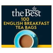 Morrisons The Best English Breakfast Tea Bags 100's