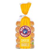 New York Bakery Co Cheese Bagels