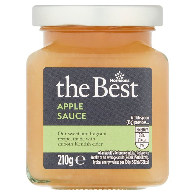 Morrisons The Best Bramley Apple Sauce with Kent Cider
