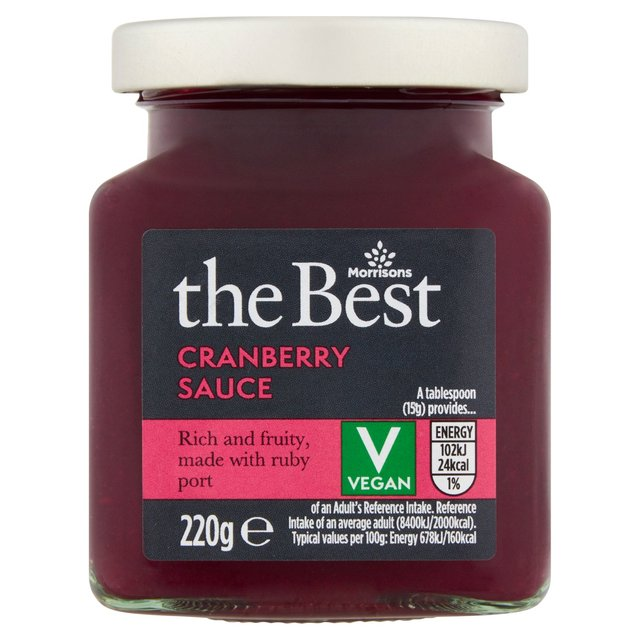 Morrisons The Best Cranberry Sauce with Port