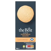 Morrisons The Best All Butter & Cream Shortbread Rounds