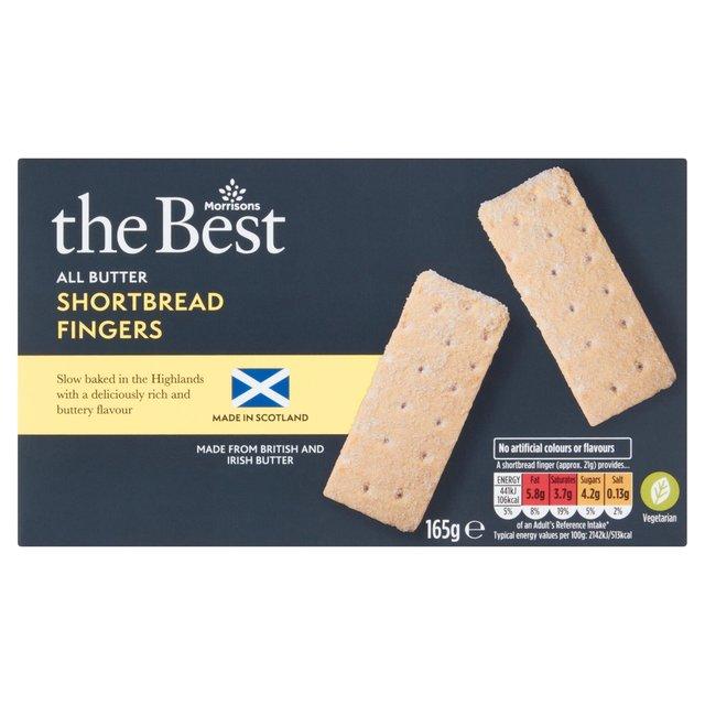 Morrisons The Best All Butter Shortbread Fingers