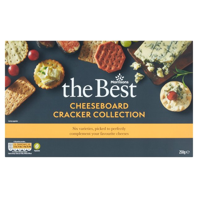 Morrisons The Best Cheeseboard Cracker Selection