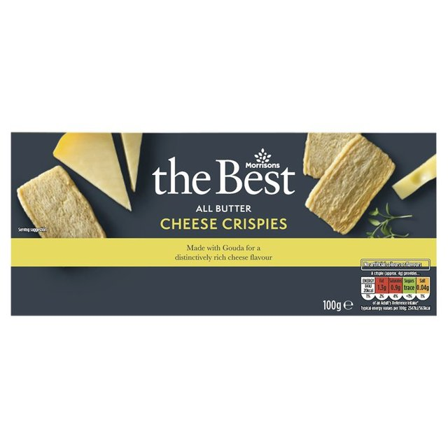 Morrisons The Best Cheese Crispies