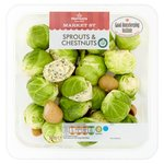 Morrisons Sprouts with Chestnuts & Thyme Butter