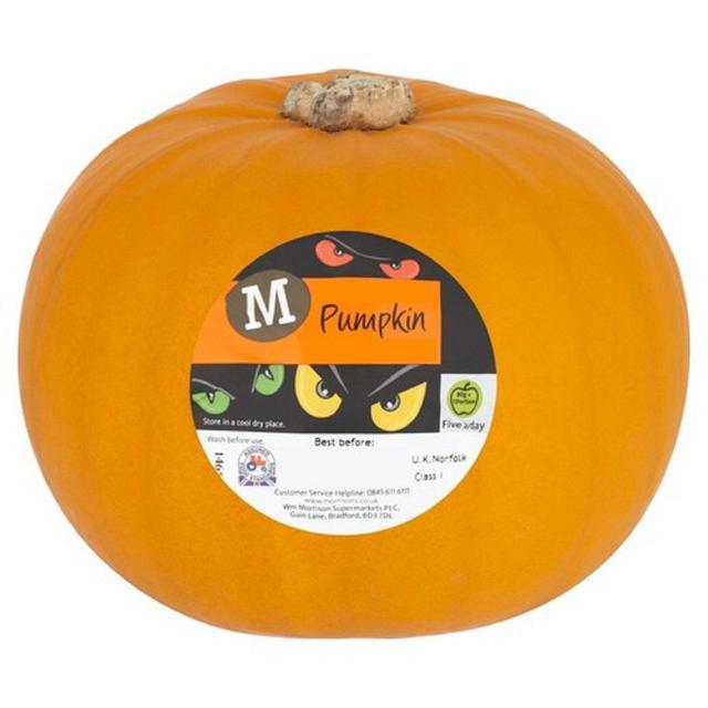MORRISONS > Food Cupboard > Morrisons Pumpkin