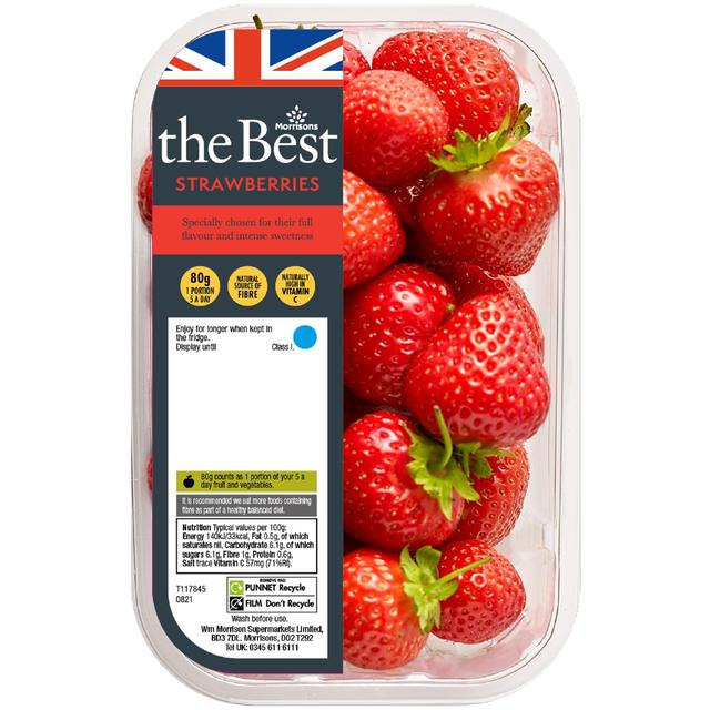 Morrisons The Best Strawberries