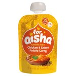 For Aisha Chicken And Sweet Potato Curry Baby Food