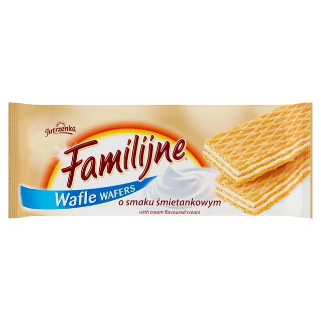 Jutrzenka Familijne Wafers with Cream Flavoured Cream