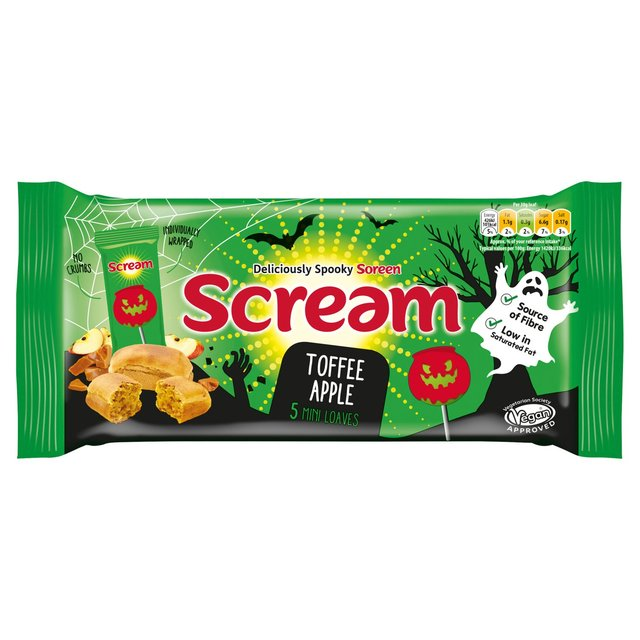 MORRISONS > Bakery > Soreen Toffee Apple Scream Deliciously Spooky Malt Loaf