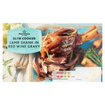 Morrisons Slow Cooked Lamb Shank With Red Wine & Rosemary