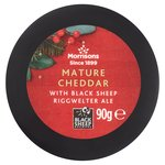 Morrisons The Best Cheddar With Black Sheep Ale