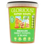 Glorious!  Super Mexican Sweet Potato & Beans Soup