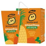 Innocent Smoothie For Kids Pineapples, Apples & Carrots