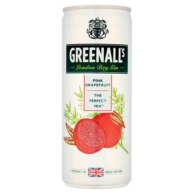Greenalls Gin & Pink Grapefruit