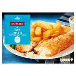 Morrisons 6 Large Battered Cod Fillets