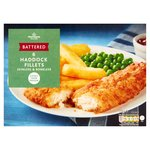 Morrisons 6 Large Battered Haddock Fillets
