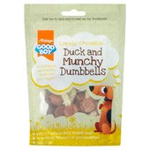 Good Boy  Duck & Munchy Dumb Bells Dog Treats
