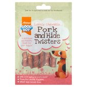 Good Boy Pork & Hide Twister Dog Treats