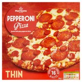Morrisons Thin Pepperoni Pizza
