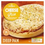 Morrisons Deep Pan Cheese Pizza