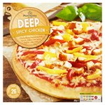 Morrisons Deep Pan Spicy Chicken Pizza