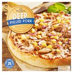 Morrisons Deep Pan Pulled Pork Pizza