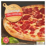 Morrisons Triple Pepperoni Sourdough Pizza