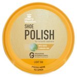 Cherry Blossom Shoe Polish Light Tan