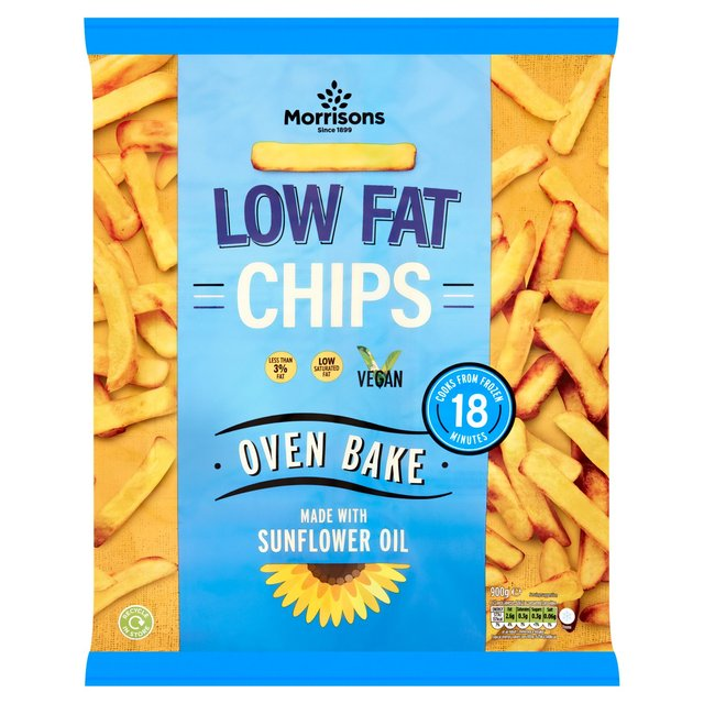 morrisons morrisons eat smart oven chips 900g product information. Black Bedroom Furniture Sets. Home Design Ideas