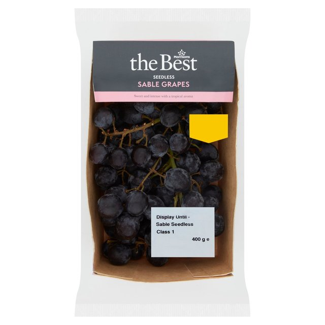 Morrisons The Best Sable Grapes