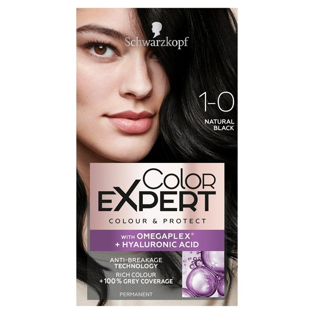d2594cec5 Morrisons  Schwarzkopf Color Expert 1.0 Natural Black Hair Dye ...