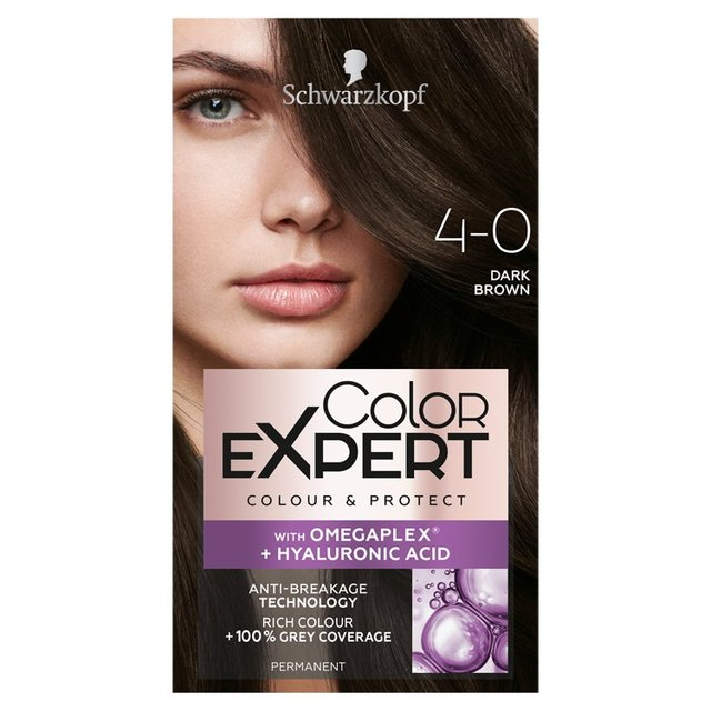 Morrisons Schwarzkopf Color Expert 4 0 Dark Brown Hair