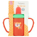Nutmeg Flip Top Cup 4 Month + (colours may vary)
